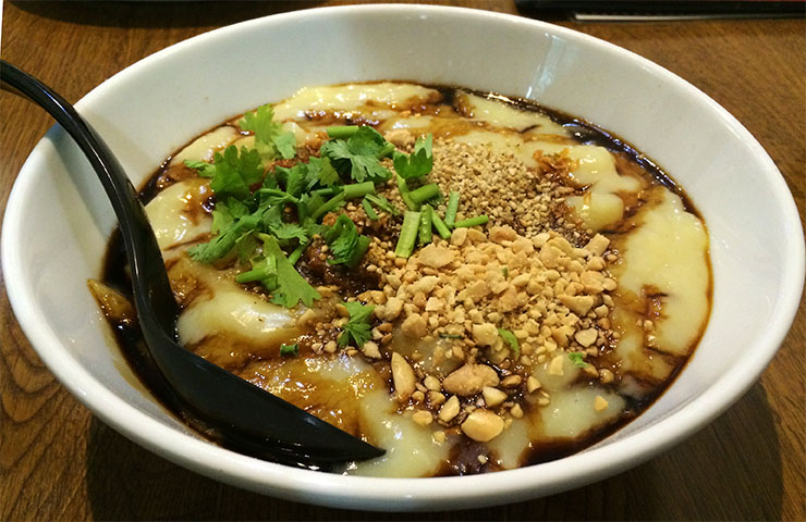 ミャンマー・シャン族の料理が食べられる食堂で「豆腐そば」を食べる! ノングインレイ