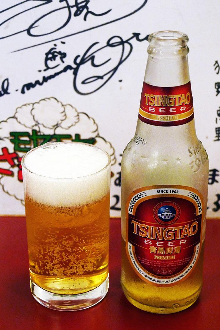 料理の達人が教える「青島ビールをもっと美味しく飲む方法」