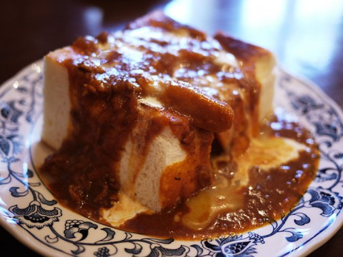 絶妙な旨味が溢れるカレートーストの名店 / 若生(わかお)