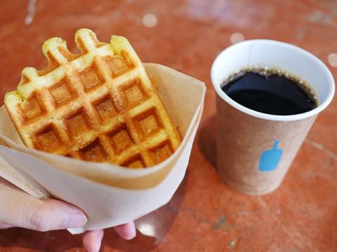 コーヒーよりも絶賛されるブルーボトルコーヒーのワッフル / その人気の秘密
