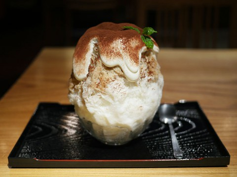 もっとも究極に近いカキ氷の完成形 / 絶品なる夏スイーツ店『かんな』の氷ティラミス