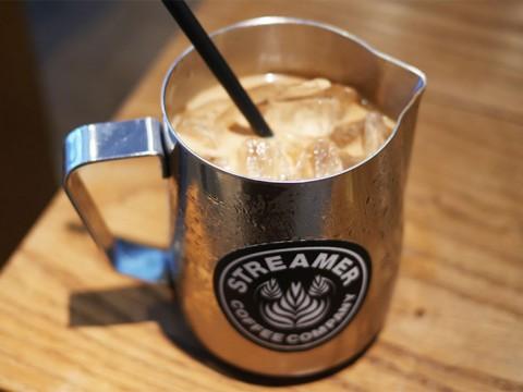 豆2倍の濃厚リボルバーアイスコーヒー / ストリーマーコーヒーカンパニー