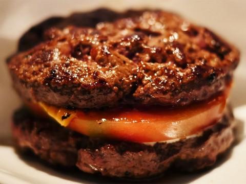 東京で一番おいしいハンバーガー店シェイクツリー / パン不使用! 肉で挟むハンバーガーに感動