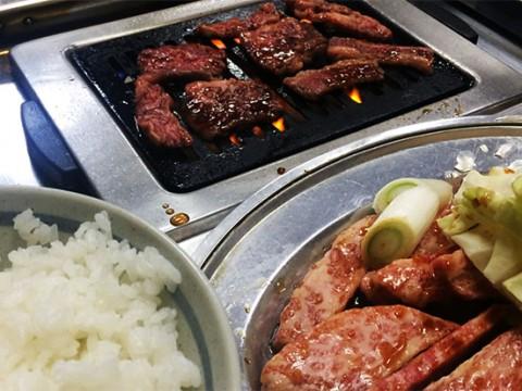 ライスを美味しく食べるために存在する和牛カルビ / 焼肉屋『対州』