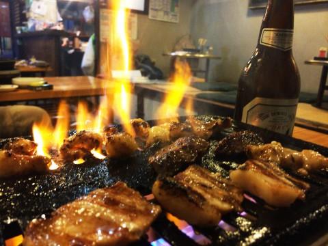 そもそも存在が知られていない焼肉屋の焼肉定食と極上カルビ / 広島市の焼肉三代