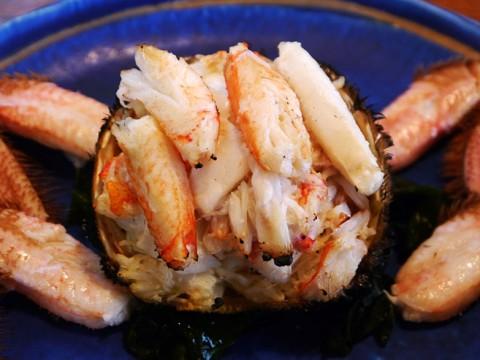長万部で食べるからこそ美味しい極上の「焼き蟹」に涙する / 濱乃家