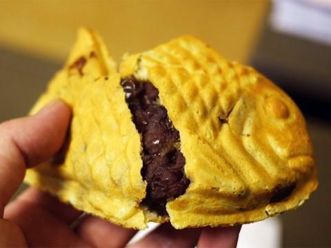 日本で三本の指に入るたい焼きの名店「わかば」に感動する / あんこだけ食べても絶品