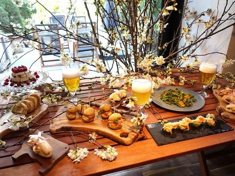 【必見】フランス全国酪農経済センターイベントで伝授! かんたんチーズ料理&ビールで楽しむパーティお花見