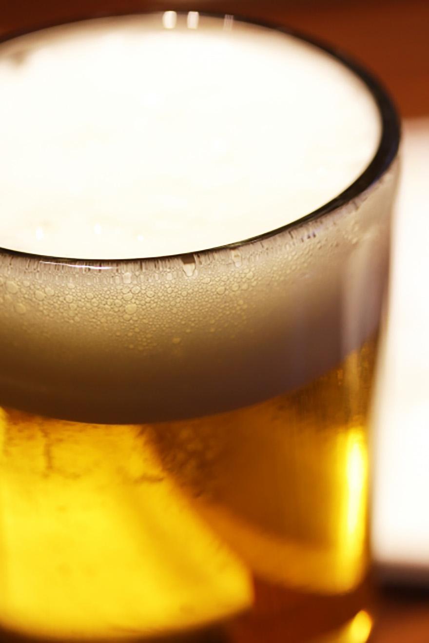 ビールたて