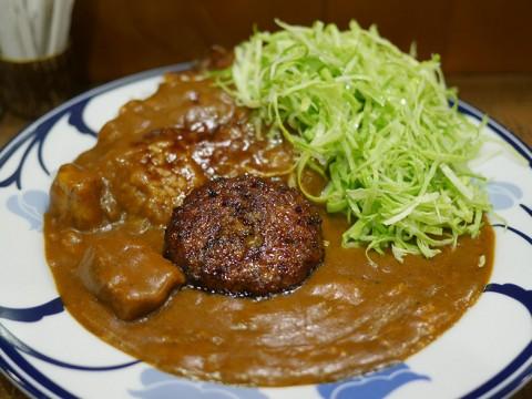 これぞ日本のカレー! 基礎がしっかり作られた絶品ハンバーグビーフカレーに心惹かれる / マーブル