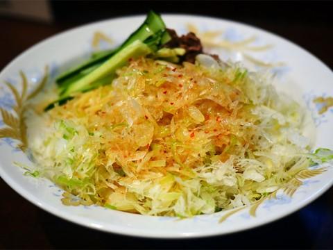 おそらく渋谷周辺でいちばん美味しい冷やし中華「冷やし葱そば」に感動する / 鶏舎