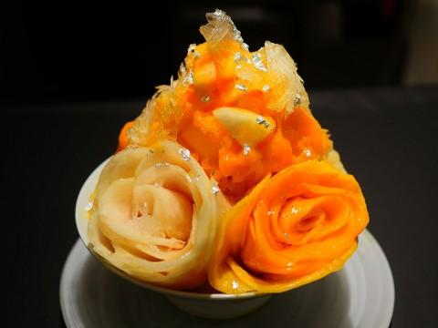 銀座三越で5000円のカキ氷 / 住所非公開のプライベートレストランが期間限定で特別なカキ氷を提供 / Fleurs d'été