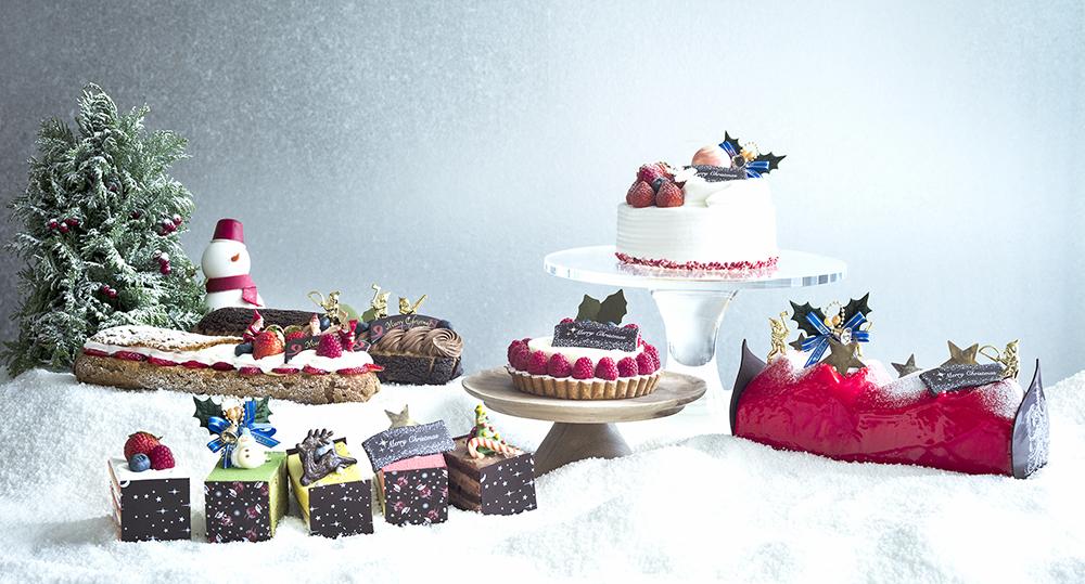 Andaz-Tokyo-Pastry Shop-Festive 2017-Christmas Cake-Group