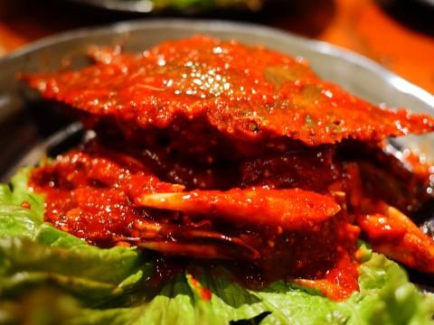本格すぎる生ワタリガニ料理「ケジャン」が絶品すぎて感動 / 焼肉屋「大盛苑」