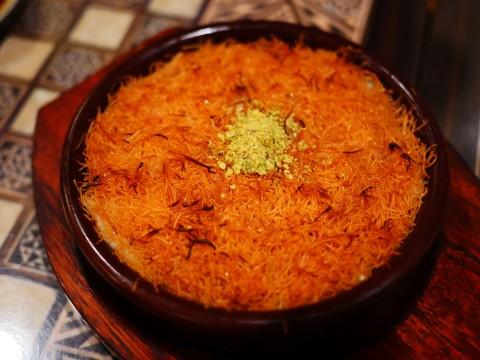 おそらく日本一美味しいクナーファが食べられる店 / アラビアレストラン ゼノビア