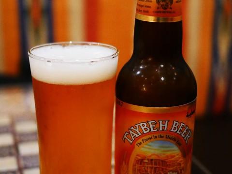 世界でも特に絶品と絶賛されているパレスチナ自治政府タイベ村のビールを東京で飲む / アラビアレストラン ゼノビア