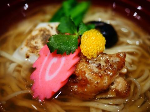 【革命】人気ラーメン店ソラノイロが革命的ラーメン限定提供 / 雑煮とラーメンの融合「EDO 雑煮麺」1月1~2日限定