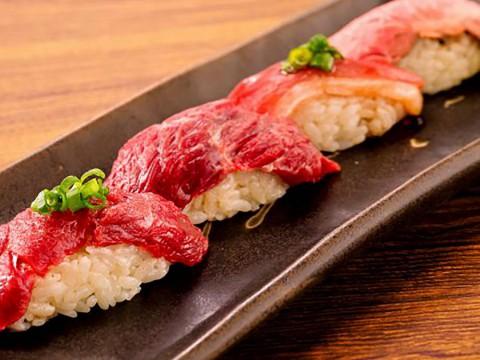 【魅惑の食べ放題】雲丹トロ寿司と肉寿司の食べ放題・飲み放題が贅沢すぎる / 吉祥寺肉寿司