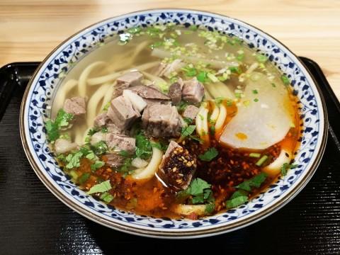 【究極グルメ】おそらく東京でトップクラスの牛肉麺が食べられる店 / 蘭州牛肉麺 思泊湖