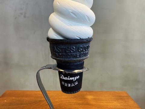 【甘美グルメ】チェーン店だからと看過できない濃厚なウマさ / 大名ソフトクリーム