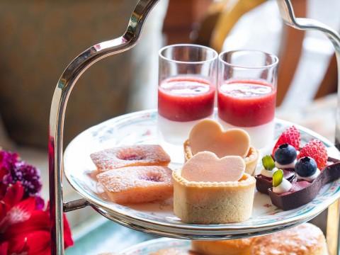 【癒しグルメ】ホテル椿山荘東京で庭園を観ながらベリーベリーアフタヌーンティーを飲みに行こう