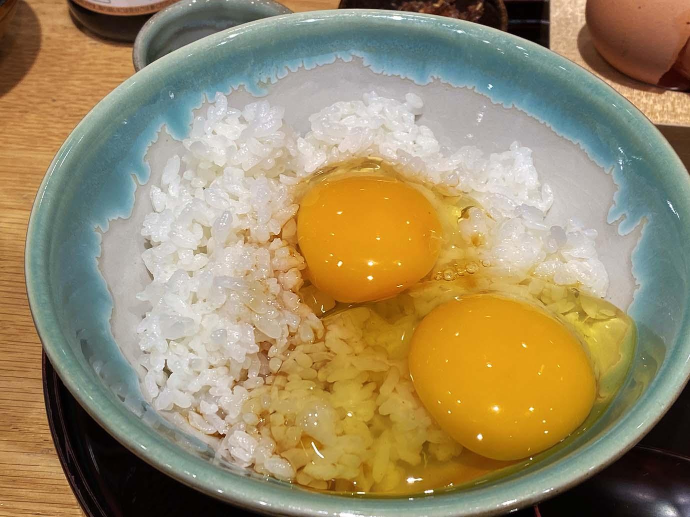 羽田 卵 かけ ご飯
