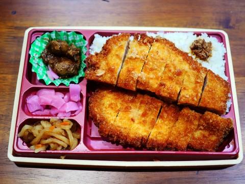 【絶品テイクアウト飯】名古屋名物みそかつ矢場とんの「わらじとんかつ弁当」を東京駅で買え