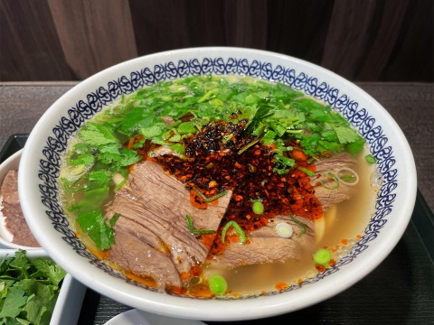 【異国グルメ】古本屋めぐりしつつ食べた牛肉麺がジワジワうまい / 馬子禄 牛肉面 神保町店