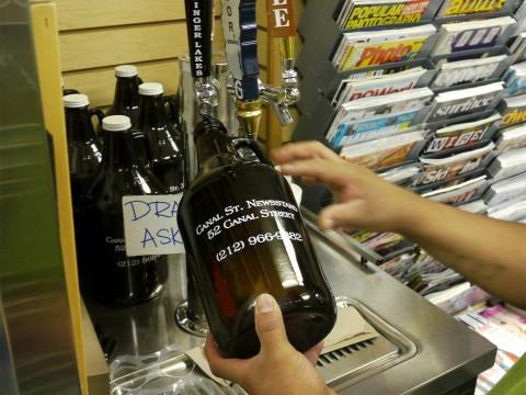 【未来グルメ】もうすぐ「ビールをマイボトルに入れてテイクアウト」は常識になる? ビール持ち帰り