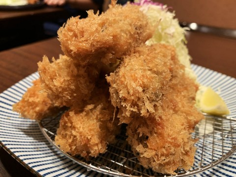 【究極グルメ】日本一うまいトンカツ屋はカキフライも最強レベルだった / とんかつ檍 銀座店