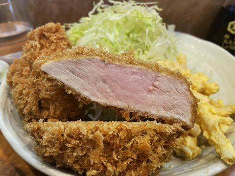 【肉厚グルメ】極厚トンカツなのにたったの1000円で食べられるヒレカツ定食がウマイ / とん金