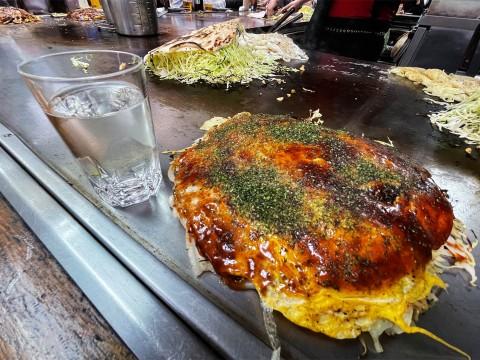 【絶品グルメ】お好み焼きチャンポンを熱々の鉄板で食べる幸せをあなたにもあげたい / カープ 東京支店