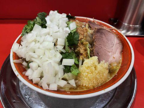 【健康グルメ】健康に気を使ってるジロリアンがラーメン二郎系で食べてる「気休めトッピング」がこれ
